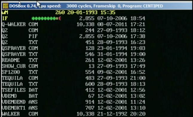 Virusas ''Šimtakojis'', kuris slankioja kompiuterio ekrane