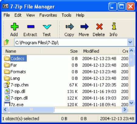 "Failų archyvatorius ""7-Zip"""