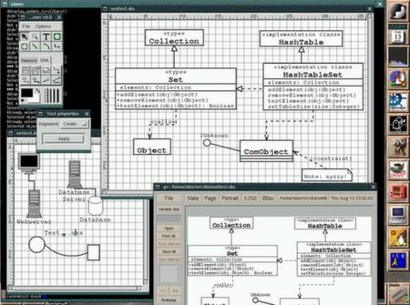 """Diagramų kūrimo įrankis """"Dia"""""""
