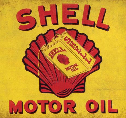 """""""Shell Motor Oil"""""""