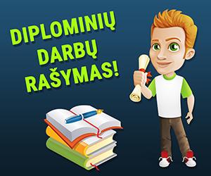 Diplominių darbų rašymas!